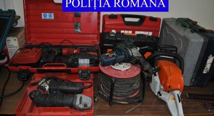 Au furat scule electrice dintr-un magazin din Alba Iulia