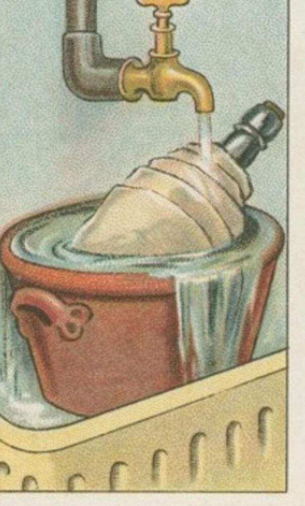Cum să răceşti o sticlă de vin fără gheaţă