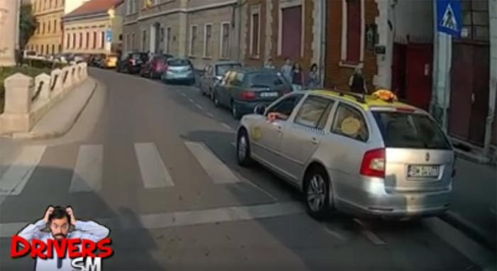 Sunt taximetrist și fac ce vreau ! (Video)