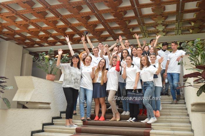 Tineri din șase țări, în vizită la Satu Mare
