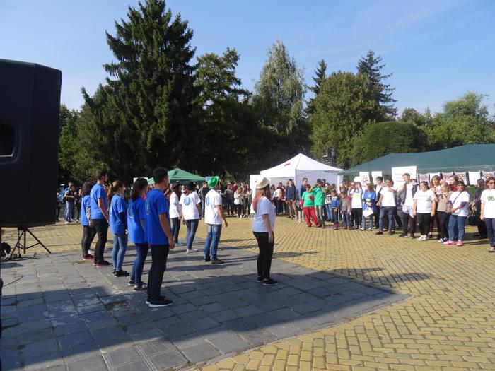 Peste 200 de sătmăreni, la Festivalul voluntariatului