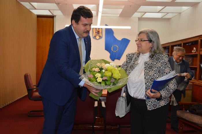 Ambasadoarea Israelului, Tamar Samash, în vizită la Satu Mare