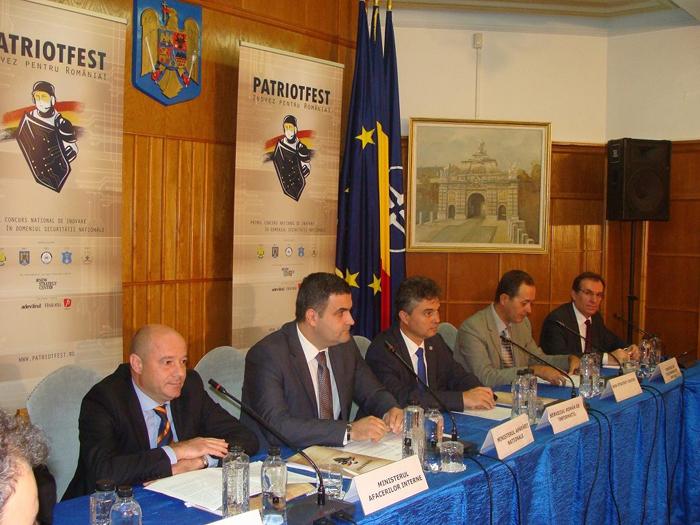 """Gabriel Leș, la lansarea concursului """"PatriotFest"""""""
