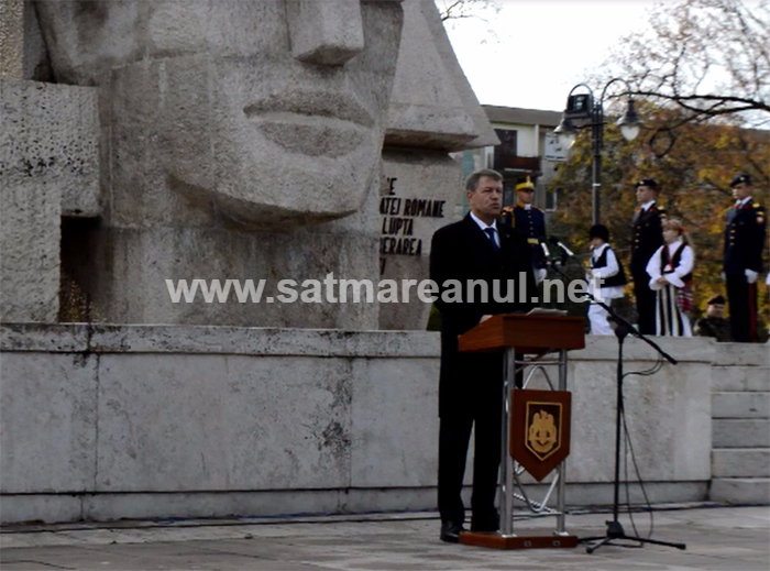"""Klaus Iohannis: """"Îmi exprim sincera apreciere pentru toți cei care astăzi reprezintă Armata României"""" (Video)"""