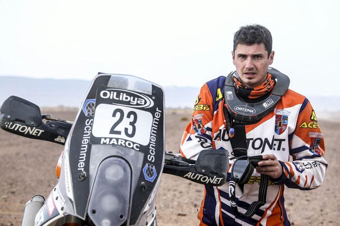 Mani Gyenes – gata pentru o nouă aventură în Raliul Dakar