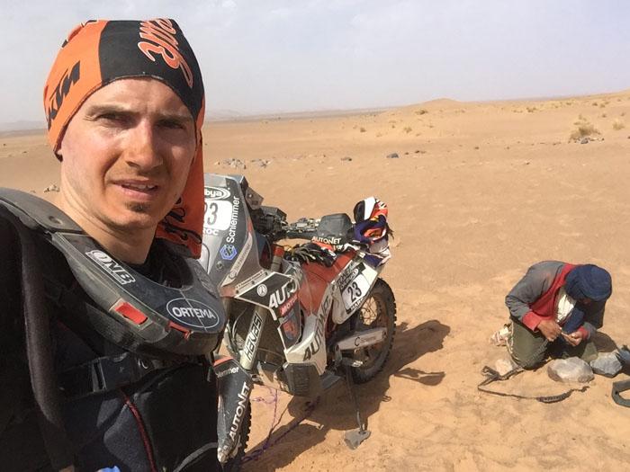 Aventuri în deșert. Mani Gyenes la Raliul Marocului (Galerie foto&video)