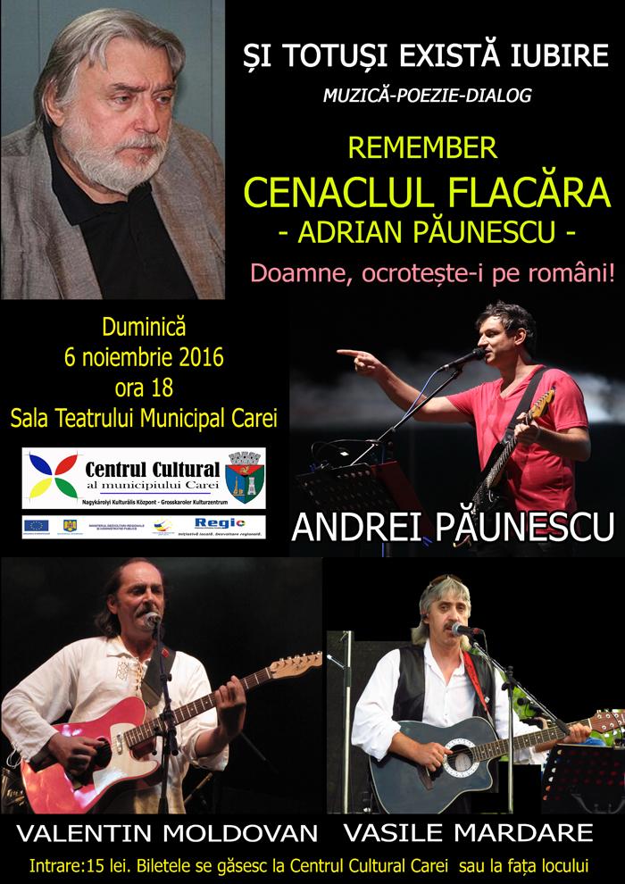Concert în memoria lui Adrian Păunescu