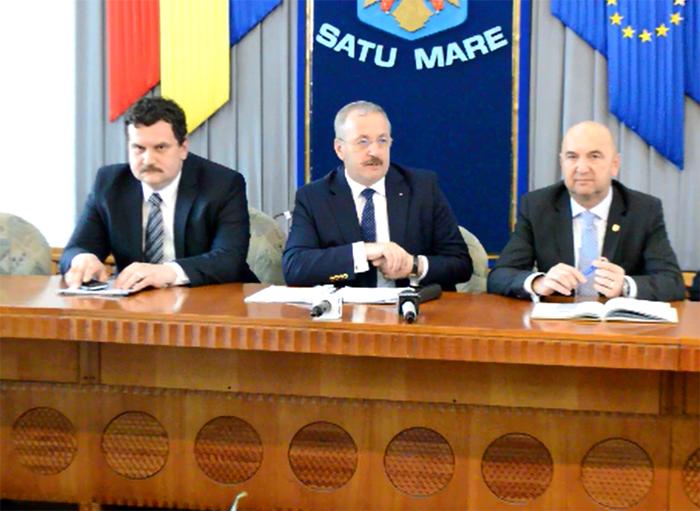 """Vasile Dîncu: """"Județul Satu Mare este un campion al dezvoltării"""""""
