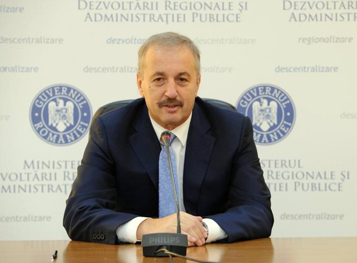 Vicepremierul Vasile Dîncu vine în județul Satu Mare. Vezi programul oficial