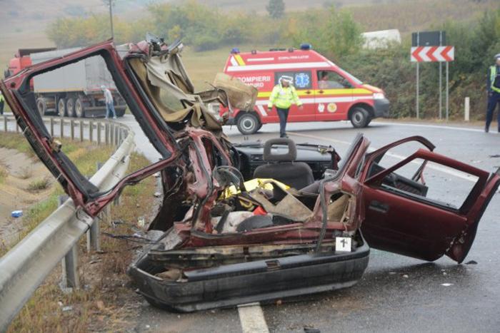 Imagini de coșmar de la accidentul mortal de pe DN 19 Satu Mare – Oradea (Foto&video)