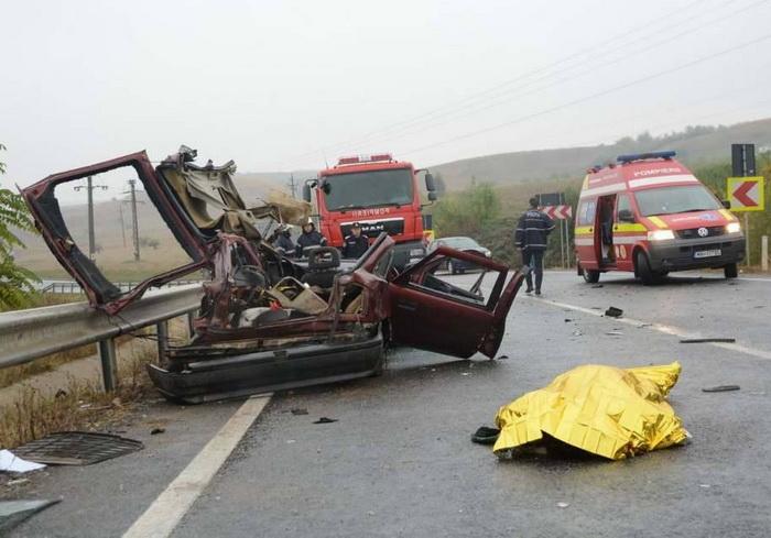 70 de europeni mor zilnic în accidente !