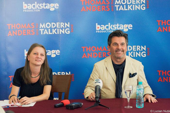 O sătmăreancă printre organizatorii concertului Modern Talking de la Cluj-Napoca (Video)