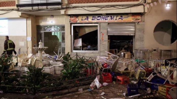 Explozie într-un oraș din Spania. Zeci de persoane rănite
