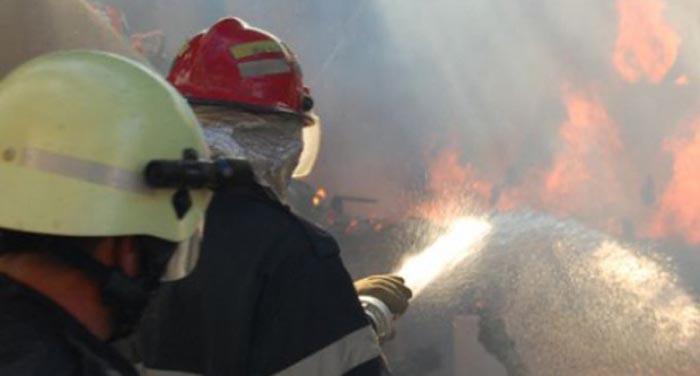 Incendiu la un bloc din Satu Mare. Locatarii au fost evacuați