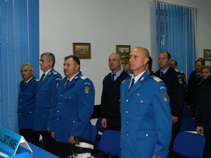 Patru jandarmi pensionați la Satu Mare