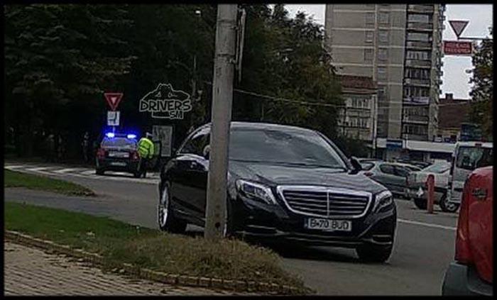 Ce spun polițiștii locali despre Mercedesul lui Bud. Urmează amenda?