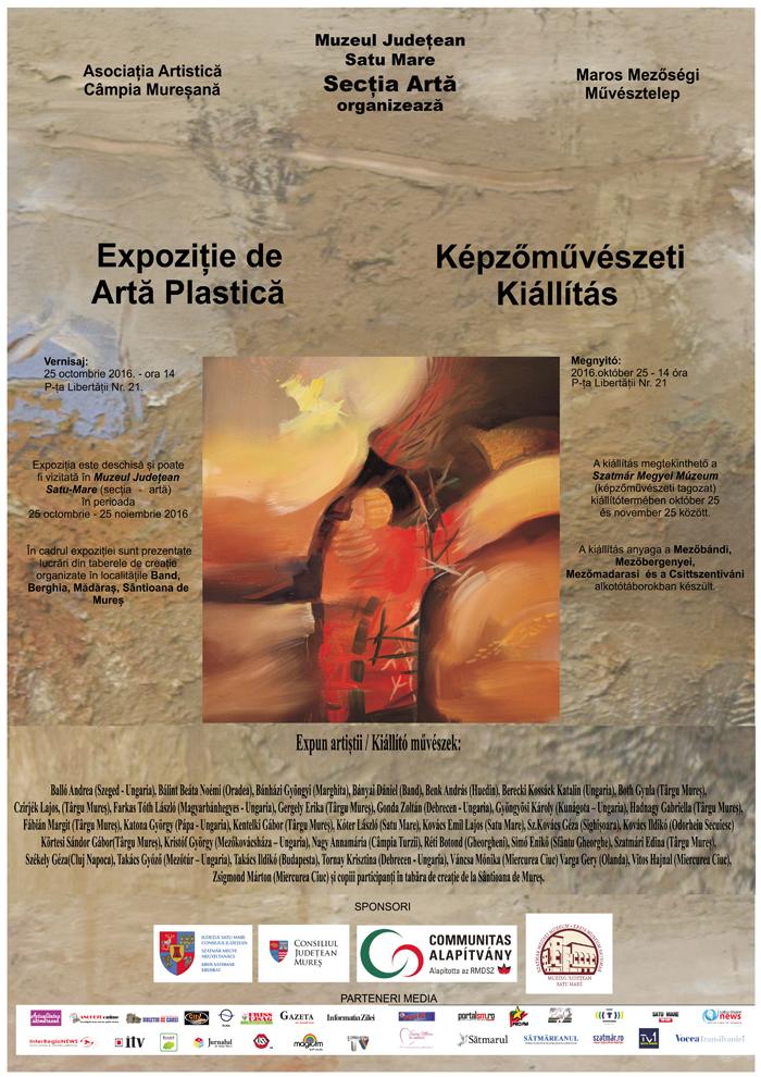 Artiști din Târgu Mureș, expun la Satu Mare