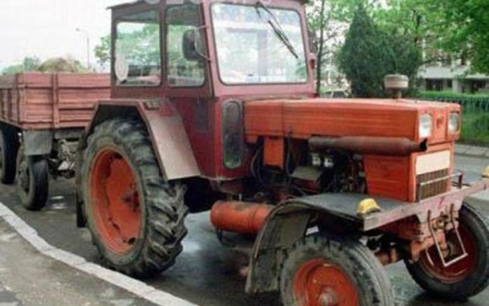 Tractorist, prins beat și fără permis