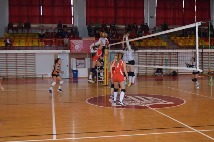 Volei: CSM Satu Mare-CSU Oradea 3-2