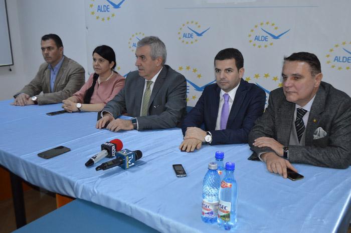 """Călin Popescu-Tăriceanu: """"La Satu Mare am găsit o organizație puternică"""""""