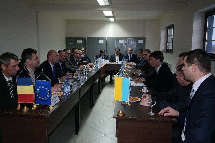 Conducerea județului s-a întâlnit cu o delegație din Ucraina