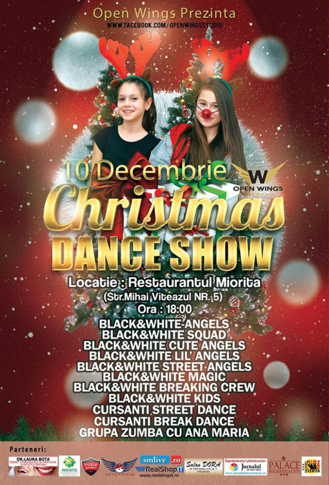 Christmas Dance Show, în decembrie, la Satu Mare
