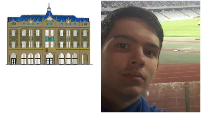 """Un tânăr din Satu Mare vrea să reconstruiască Hotelul """"Dacia"""". Vezi proiectul acestuia (Foto)"""