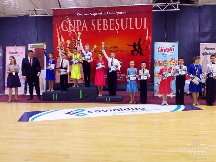 Sportivi de la Loga Dance School, la Cupa Sebeșului