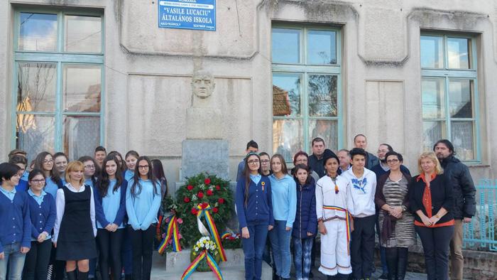 Vasile Lucaciu, comemorat la Carei