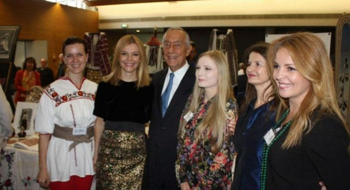 Președintele Portugaliei, încântat de obiceiurile din Oaș