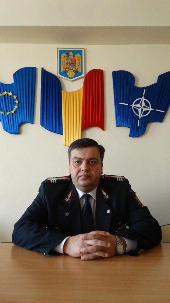 "Nicolae Dima, inspector șef al ISU ""Someș"" Satu Mare"
