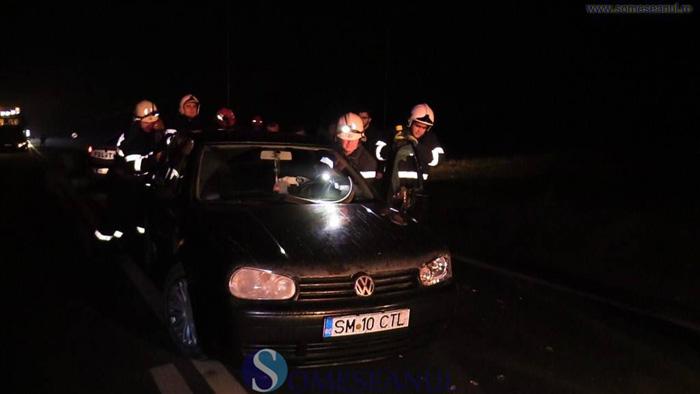 Tineri din Satu Mare, la un pas de moarte. Imagini de la locul accidentului (Foto&video)