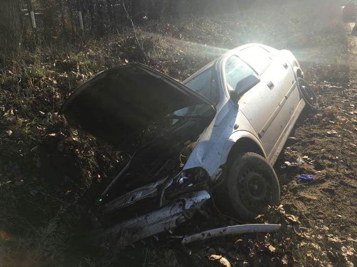 Accident la Pădurea Noroieni. Tânără, rănită grav (Foto)