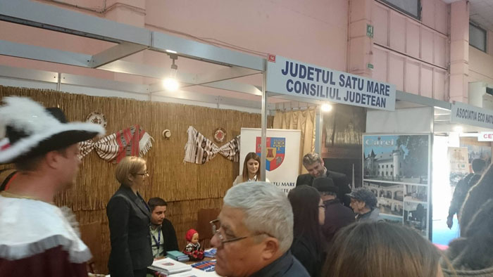 Municipiul Carei, promovat la Târgul Internațional de Turism de la București (Foto)