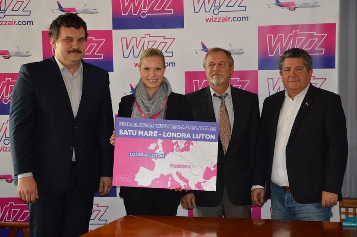 Conducerea Wizz Air, mulțumită de primele curse de la Satu Mare. Ce spune Tamara Vallois