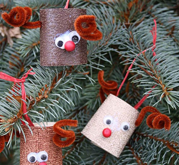 Împodobește bradul cu ornamente făcute în casă (Foto)