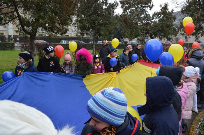 Ziua Națională: Moment emoționant organizat de Cercetașii României (Video)