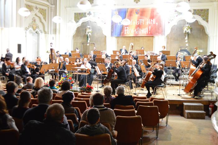 Concert simfonic de Ziua Națională a României (Video)