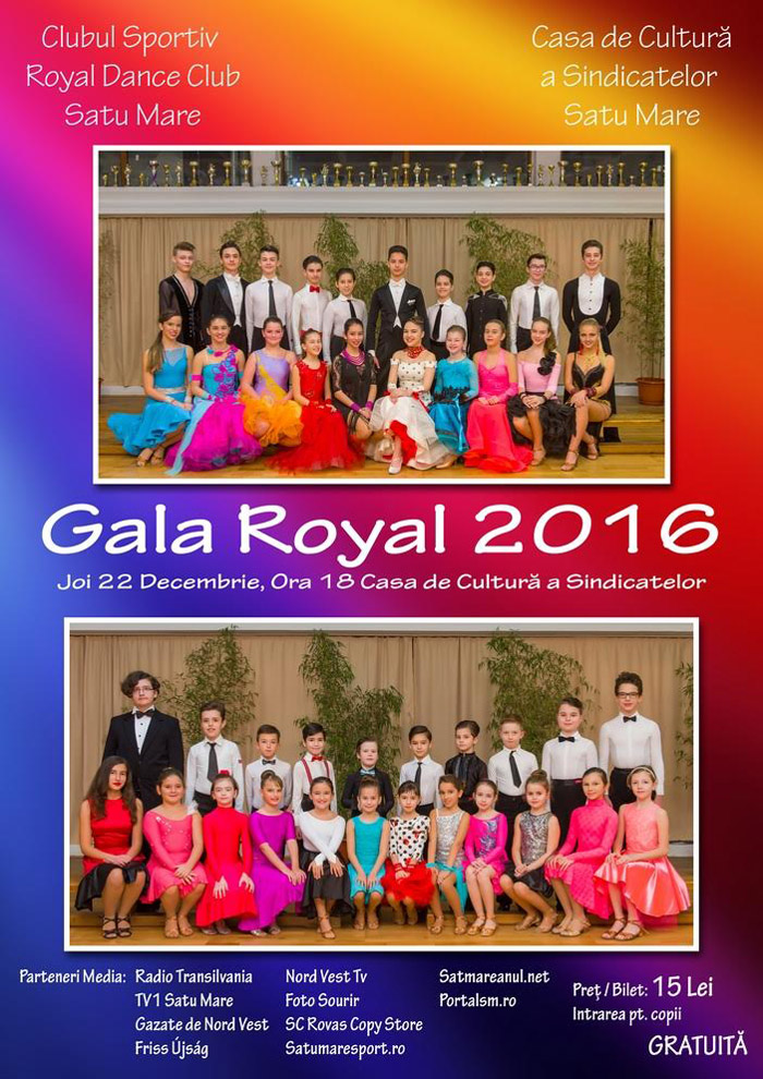"""Gala Royal"", la o nouă ediție"