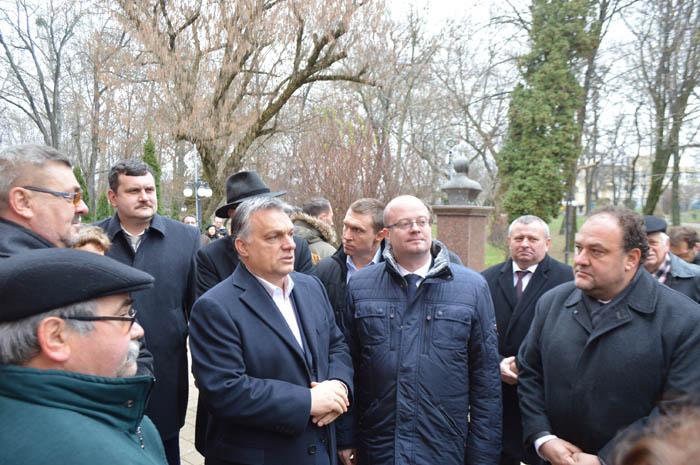 Premierul Ungariei, Viktor Orban, a efectuat o vizită la Satu Mare (Foto&video)