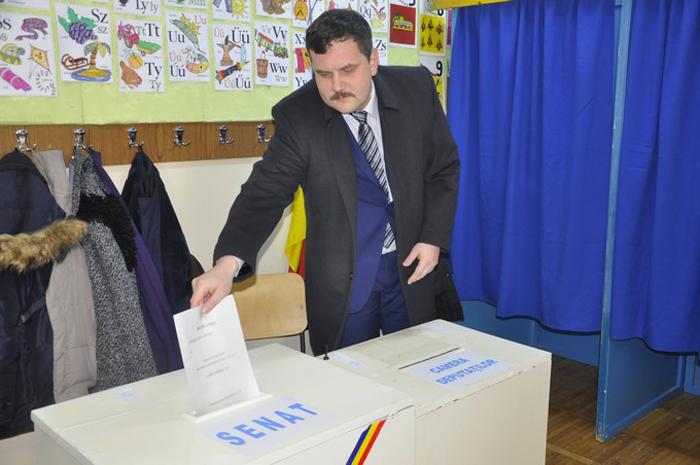 """Pataki Csaba: """"Am votat candidații care nu vor uita de unde au pornit"""""""