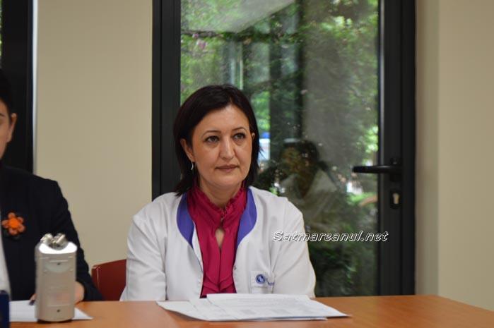 Raluca Tarba este managerul interimar al Spitalului Județean Satu Mare