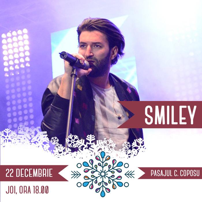 Smiley va concerta azi la Satu Mare