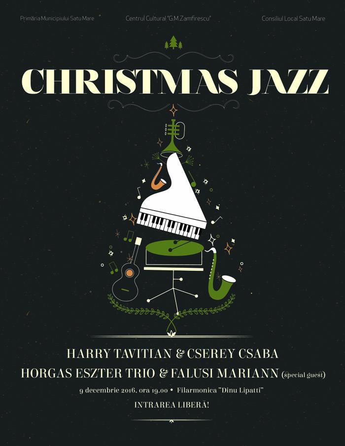 """Christmas Jazz"", pe scena Filarmonicii ""Dinu Lipatti"""