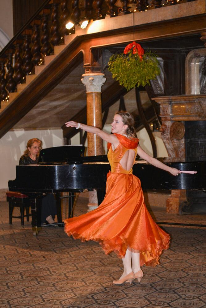 Concert de arii din opere și cântece de Crăciun la Castelul din Carei (Foto)
