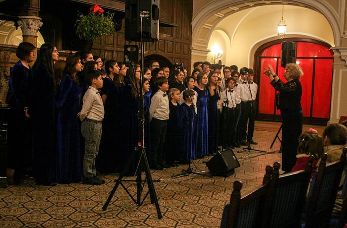 Concert coral la Castelul din Carei