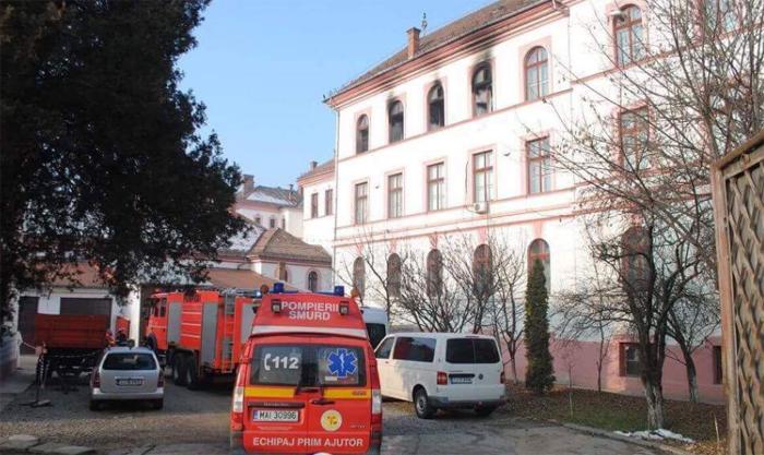 Explozie la o facultate din Cluj-Napoca. Vezi detalii