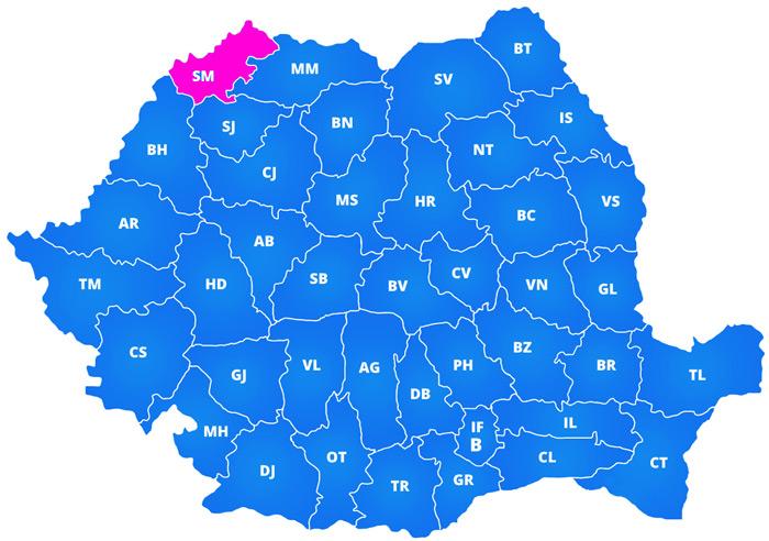 Prezența la vot în județul Satu Mare în ultimii 10 ani