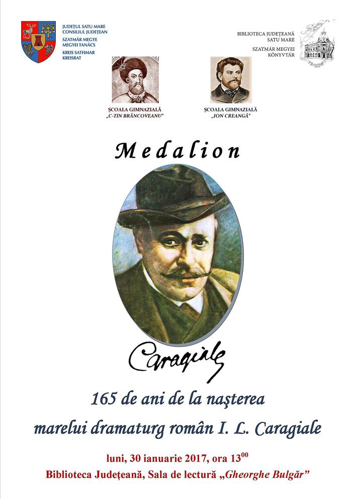 Ion Luca Caragiale, omagiat la Biblioteca Județeană Satu Mare