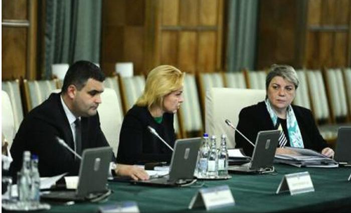 Ședință de lucru la Guvern, pe tema bugetului